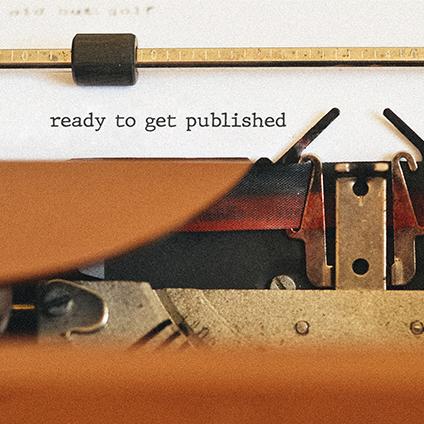 Ready to publish a manuscript